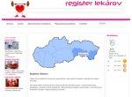 Register lekárov, zdravotníckych a relaxačných zariadení