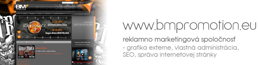 BM Promotion - reklamno marketingová spoločnosť
